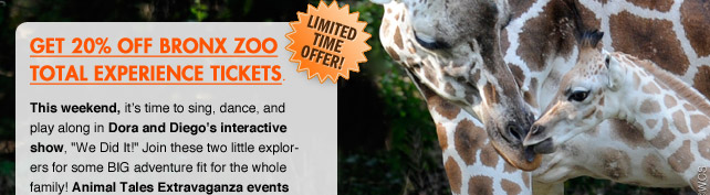 Limited Time Offer! Save 20% on Online Tickets